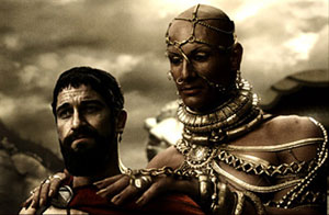 4 300- Leonidas and Xerxes discuss surrender